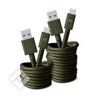 FRESH ÂN REBEL CABLE USB C  1.5M ARMY