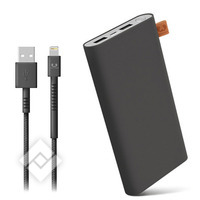 FRESH ´N REBEL 12000mAh + 1.5M cable USB-Lightning Concrete