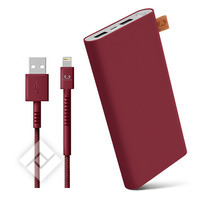 FRESH ´N REBEL 12000mAh + 1.5M cable USB-Lightning Ruby