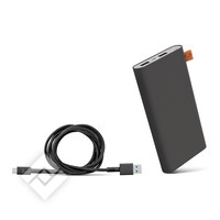 FRESH ´N REBEL 12000mAh + 1.5M cable USB-USBC Concrete