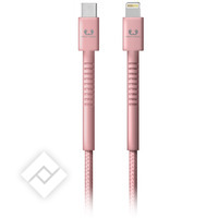 FRESH ÂN REBEL USB-C-LIGHTNING 1.5M PINK