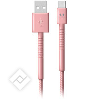 FRESH ÂN REBEL USB-USB-C 3.0M DUSTY PINK