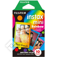 FUJIFILM FILM INSTAX MINI RAINBOW X10