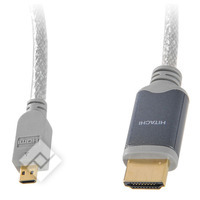 HITACHI HDMI-MICROHDMI 1.5M GOLD