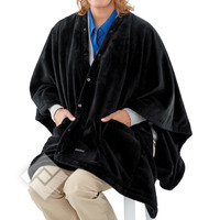 HOMEDICS Heating poncho with Massage function HM HPON-500