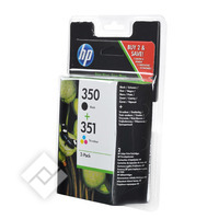 HP 350/351 PACK BLACK & COLO