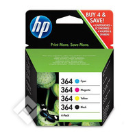 HP 364 PACK BL+3CL+SNAPSHOT