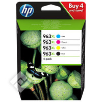 HP PACK 963XL 4 COLORS