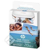 Papier imprimante / photo ZINK PHOTO PAPER X20