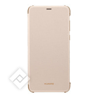 HUAWEI FLIP COVER GOLD FOR P SMART