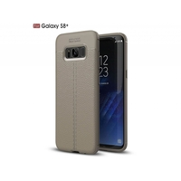 i12Cover Soft case voor de Samsung Galaxy S8 Plus in luxe beige TPU leer