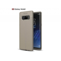 i12Cover Soft case voor de Samsung Galaxy Note 8 in luxe beige TPU leer