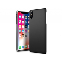 i12Cover Hard case voor de Iphone X Zwart, extra slank hoesje