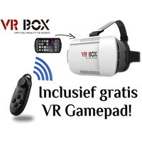 i12Cover VR BOX Virtual Reality Glasses 3D Bril + Gratis VR Gamepad