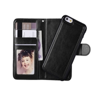 i12Cover Luxe Iphone 6 Wallet Case + uitneembare houder, business style
