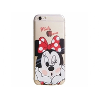 I12COVER APPLE IPHONE 7 SOFTCASE HOESJE MET MINNIE MOUSE