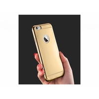 i12Cover Apple Iphone 5s Siliconen Hoesje Mat Goud