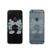 I12COVER APPLE IPHONE 6S SOFTCASE HOESJE MET MICKEY & MINNIE MOUSE