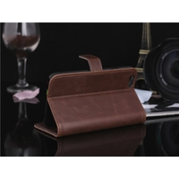 i12Cover Lederen Wallet Book Case voor Iphone 6