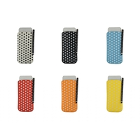 i12Cover Universal Polka Dot Sleeve (L) for Smartphones