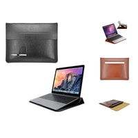 i12Cover 15.4-15.6 inch Luxury Business Sleeve with ergo Standfunctie