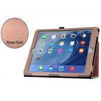 i12Cover Apple Ipad Air Case in luxe business kwaliteit in Rose Goud