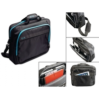 I12COVER LAPTOP BAG 17-18 INCH WITH AUDIO/CABLE PASS-THROUGH
