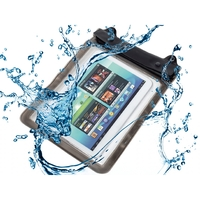 i12Cover Waterdichte tablet hoes XL met audio doorgang