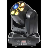 Ibiza SPOT & WASH MOVING HEAD 2-IN-1  (PLUTON30-WASH)