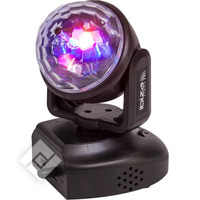 Ibiza RGB LED MOVING HEAD MET ASTRO EFFECT (LMH-ASTRO)
