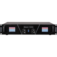 Ibiza 2 x 240W PA VERSTERKER MET LED MATRIX DISPLAY (AMP300-MATRIX)