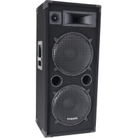 Ibiza 3-WAY DISCO COLUMN SPEAKERS 2 x 15inch/38cm - 1000W  (STAR215)
