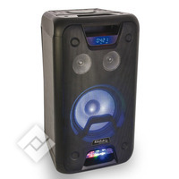 Ibiza 300W HI Power Sound Box USB, BT,MIC+GUITAR IN + LEDs (FREESOUND300)