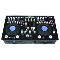 Ibiza PROFESSIONELE DUBBELE CD/USB/SD- MIXCONSOLE (FULL-STATION)