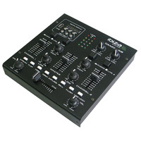 Ibiza TABLE DE MIXAGE STEREO A 3 CANAUX/5 ENTREES AVEC USB MP3 & SD (DJM200USB)
