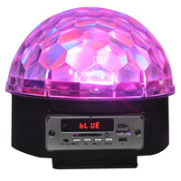 IBIZA EFFET DE LUMIERE A LED RVBBAR ASTRO5 AVEC HP & SD-USB-BLUETOOTH (LL082LED-BT)