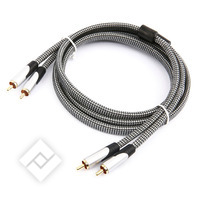 Audiokabel / fiche 2RCA CABLE M/M 1.5M