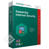 KASPERSKY INTER.SEC.2017 BLX 5U 1Y, Software