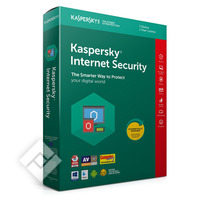 KASPERSKY INTERNET SECURITY 2019 BLX 1 USER 1 YEAR