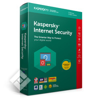 KASPERSKY INTERNET SECURITY 2019 BLX 3U 1Y