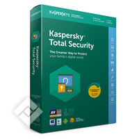 KASPERSKY TOTAL SECURITY 2019 BLX 3 DEVICES 1 YEAR