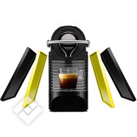 KRUPS NESPRESSO PIXIE CLIPS XN3020 BLACK & LEMON