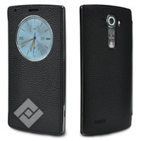 LG G4 LEATHER QUICKCIRCLE BL