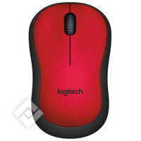 LOGITECH M220 SILENT RED/BLACK