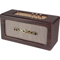 Madison OPLAADBARE VINTAGE LUIDSPREKERBOX MET USB & BLUETOOTH 2 X 10W (FREESOUND-VINTAGE-WD)
