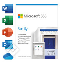 MICROSOFT 365 FAMILY ENG