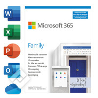 Software 365 FAM MAC/WIN NL 1 LIC