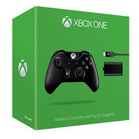 MICROSOFT CONTROL PAD WIRELESS OFFICIEL BLACK+PLAYNCHARGEKIT (XBOX ONE) LANGLEY