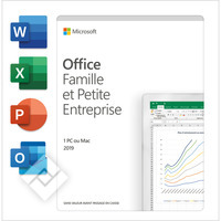 MICROSOFT OFFICE HOME & BUSINESS 2019 FR