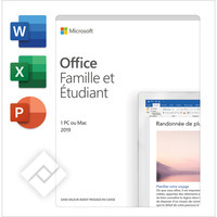 MICROSOFT OFFICE HOME & STUDENT 2019 ENG